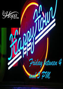 The Hops Happy Hour at The Riverside Hotel