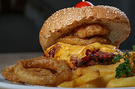 Riverside Day Spa Burger at The Riverside Hotel in Durban