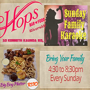 Sunday Family Karaoke Hops at Riverside Hotel