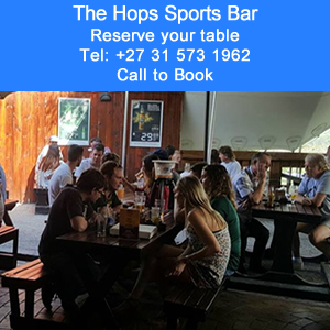 The Hops Sportsbar at The Riverside Hotel